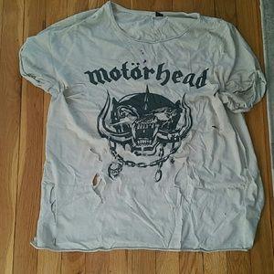 Motorhead Distressed t shirt